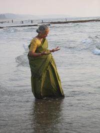 donna in sari