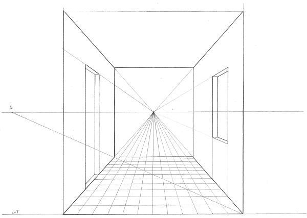 Disegno prospettiva centrale qd63 regardsdefemmes for Disegnare una stanza in 3d