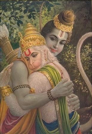Rama e Hanumana
