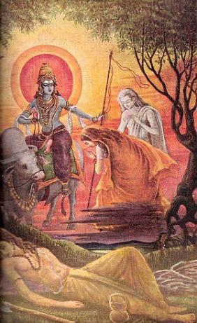 Savitri prega Yama