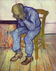 Sulla soglia dell'etenita (Van Gogh)
