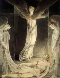 Resurrezione del Cristo di William Blake