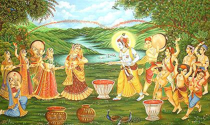 Shri Krishna e Holi Festival