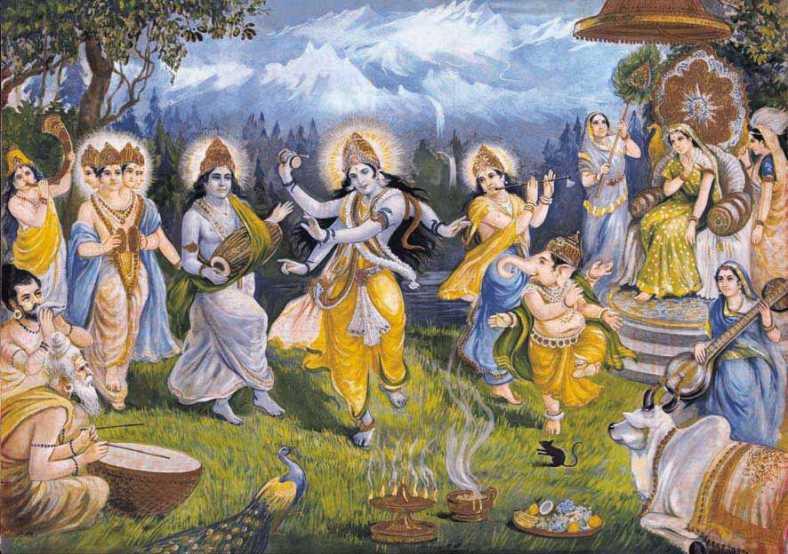 Ananda Tandava - arte perfetta Sahaja Yoga